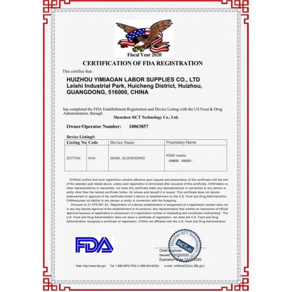 10db koronavírus szűrésére megfelelő lélegző Arcmaszk KN95 (FFP2) vedelmi szintű