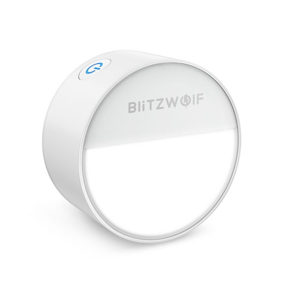 Night Light - BlitzWolf® BW-LT10 Plug-in LED Night Light with Dusk to Dawn Sensor, Countdown Timer, Low Power Consumption, 3000K Color Temperature