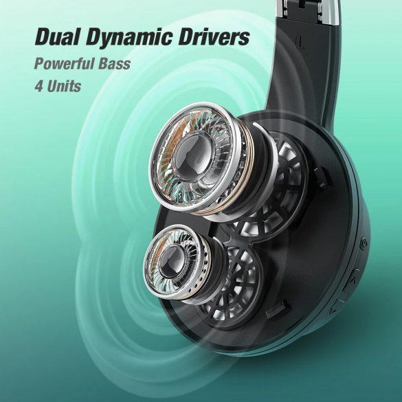 BlitzWolf® AirAux AA-ER3 - Dual Dynamic Driver headphones - long battery life, bass boost