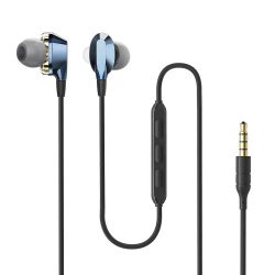 BlitzWolf Airaux AA-HE2 - dual dynamic driver wired earphones, 3.5 Jack, deep bass