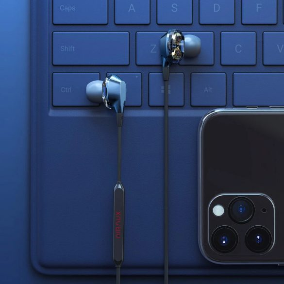 BlitzWolf Airaux AA-HE2 - dual dynamic driver wired earphones, 3.5 Jack, deep bass