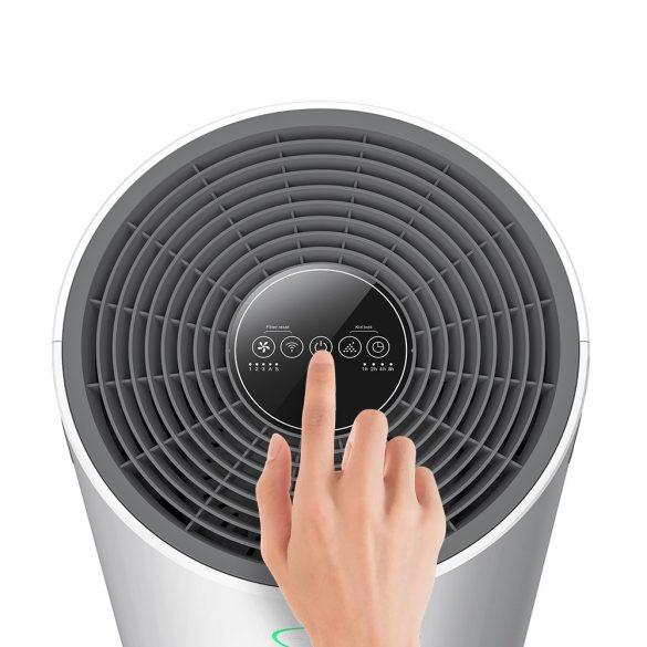 BlitzWolf®BW-AP2 Smart Anion Air Purifier - 500 m³ per hour, 3 in 1 filter, quiet operation