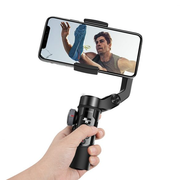 BlitzWolf® BW-BS14 bluetooth selfie stick with 3-Axis Gimbal Stabilizer