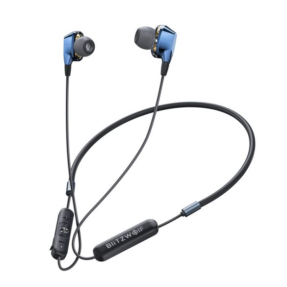 BlitzWolf-BW-BTS4 Sport Bluetooth Magnetic Earphone with Mic
