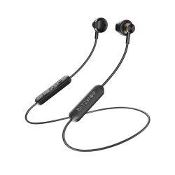 BlitzWolf-BW-BTS5, Bluetooth Kopfhörer, V5.0 In Ohr Kopfhörer magnetisches Headset IPX5 AptX Stereosport Ohrhörer 8 Stunden Spielzeit mit Mikrofon