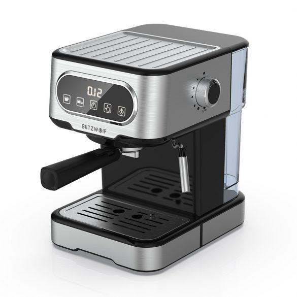 BlitzWolf® BW-CMM2 espresso machine - 20 bar, 1100W, touch buttons