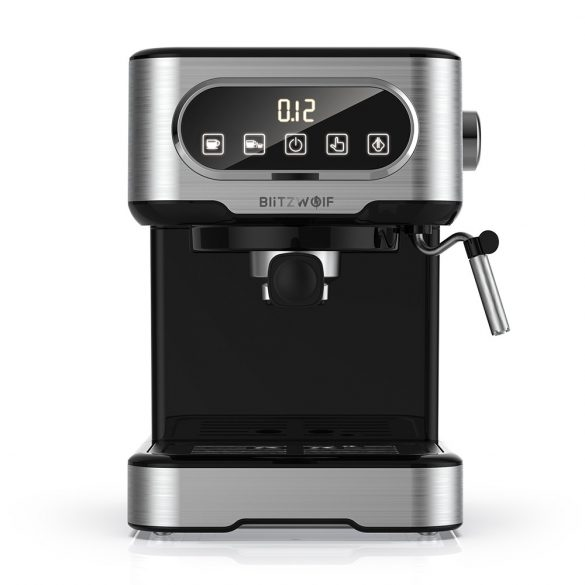 BlitzWolf® BW-CMM2 espresso machine - 20 bar, 1100W, touch buttons