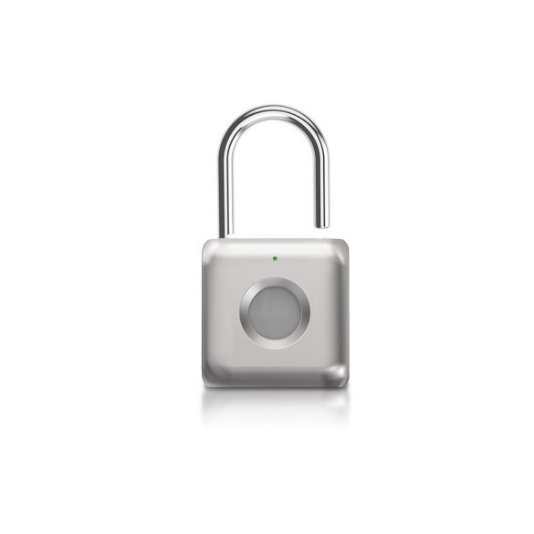 BlitzWolf® BW-FL1 Smart Padlock with Fingerprint Reader: waterproof, dustproof, 1 year operation