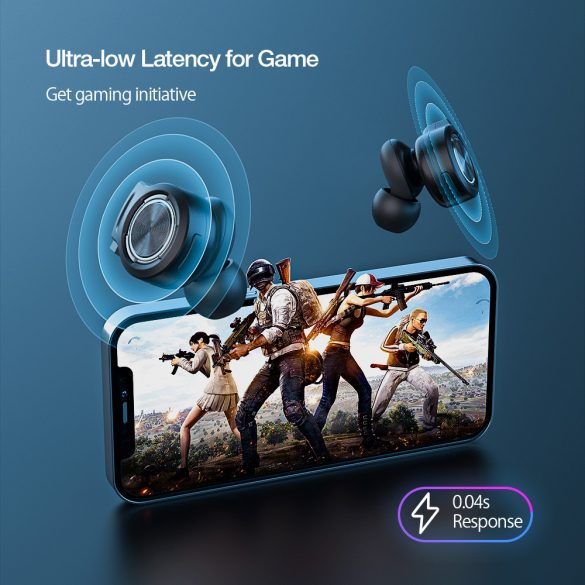 BlitzWolf® BW-FLB3 Wireless Gamer Headset - 0.04s Delay, Dual Dynamic Driver, RGB Lighting