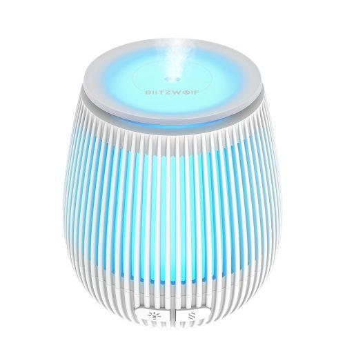 BlitzWolf®BW-Fun2 Ultrasonic Diffuser- 400ml, 10 hours battery time, white light