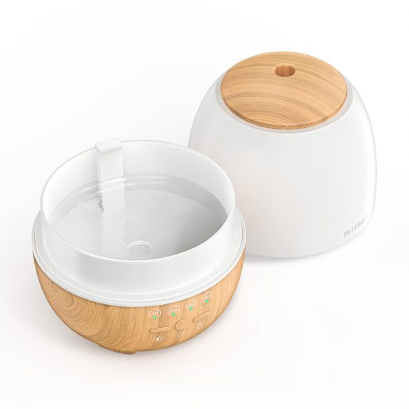 BlitzWolf®BW-FUN3 Smart Aroma Diffuser - APP Control, Colorful Light, Voice Control