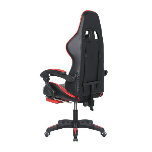 BlitzWolf BW-GC1 - Gaming Chair with 150°Reclining, Detachable Pillows, Retractable Footrest, Adjustable Height and PVC Material