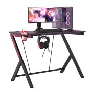 BlitzWolf BW-GC1 - Gaming Desk with  large desk space, strong material, headphone and cup holder