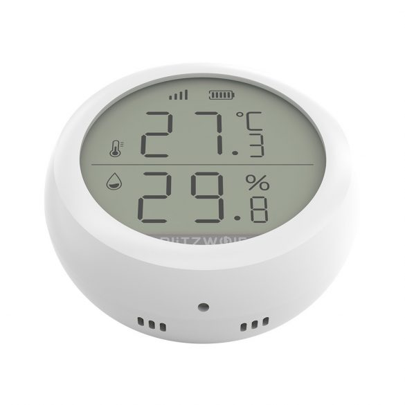 BlitzWolf® BW-IS4 Smart, ZigBee temperature and humidity sensor