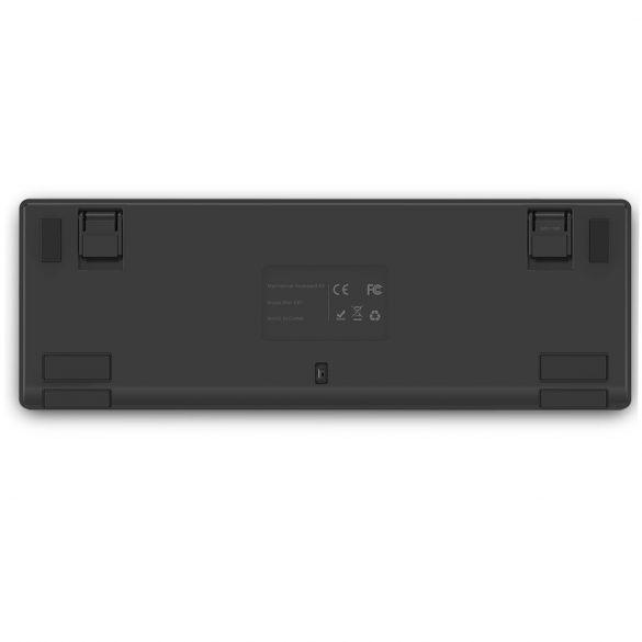 BlitzWolf BW-KB1 Gamer Keyboard - Mechanical Keys, RGB LED Lighting, Wired and Wireless, IPX4 - Black