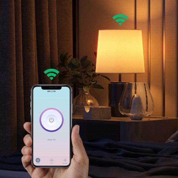 BlitzWolf®BW-LT30 E27 WIFI Smart Bulb Base Adapter Holder, App and Voice Control