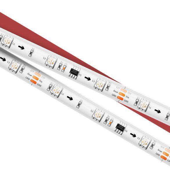 BlitzWolf® BW-LT31 smart LED strip - 5m / 10m long, App and IR remote control, music mode, various light effects