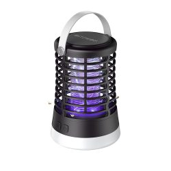 BlitzWolf®BW-MLT1 - Outdoor mosquito killer UV lamp with battery, IP66 waterproof