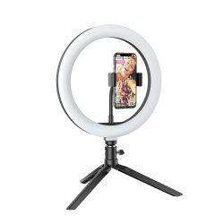 Desktop Flash LED Phone Holder BlitzWolf® BW-SL3; 3 Color Temperatures, Stepless Dimming, 360°Platform