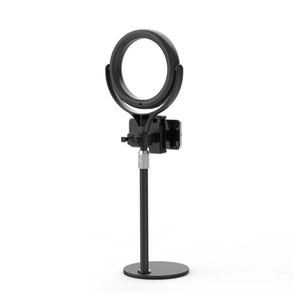 Desktop Flash LED Phone Holder BlitzWolf® BW-SL4; 3 Color Temperatures, Stepless Dimming, 360°Platform
