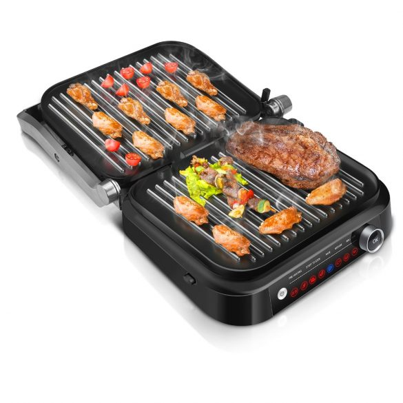 BlitzWolf® BW-SM1 SMART table grill - 7 grilling / grill functions, excellent grilling results