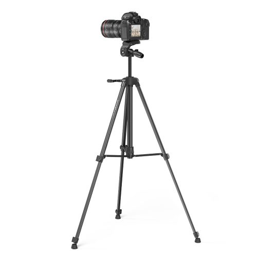 BlitzWolf® BW-STB1 - Tripod for cameras and phones - 160 cm, light weight, remote control