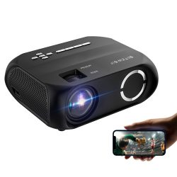BlitzWolf® BW-VP11 - 720P, 6000 Lux - Home cinema projector with wireless + USB support with built-in speaker