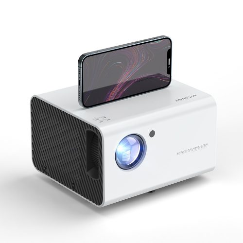 BlitzWolf® BW-VP14 - 1080P, 6000 Lumens - Home Cinema Projector. WiFi connection, Keystone correction, digital zoom, built-in speaker