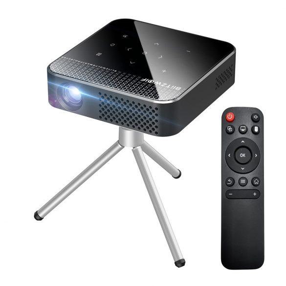 BlitzWolf® BW-VT1 Home Cinema Mini Projector - Android OS, 854x480P, DLP Technology, Vivid Color