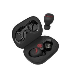 BlitzWolf® AIRAUX AA-UM1 True Wireless bluetooth 5.0 Earphone Hi-Fi Stereo Headphone with Charging Case - Black
