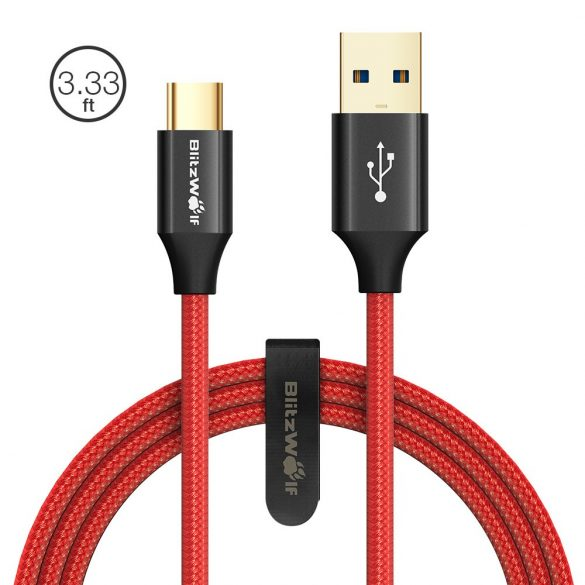 USB 3.0 1.8 meter long USB Type-C cable 3A -BlitzWolf® BW-TC10
