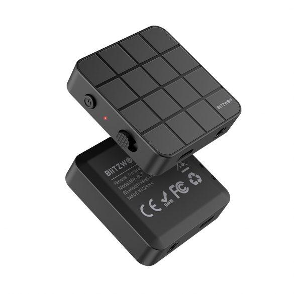BlitzWolf® BW-BL2 Bluetooth V5.0 Music Receiver Transmitter 3.5mm Audio 2 in 1 Adapter