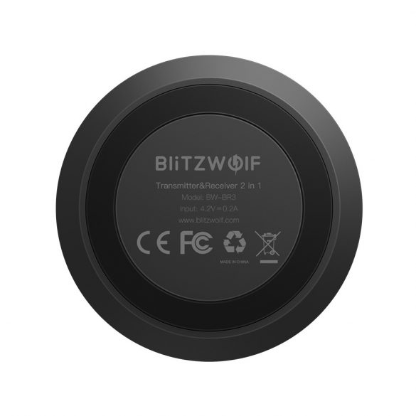 BlitzWolf® BW-BR3 Bluetooth V4.1 aptX™ Music Receiver Transmitter 3.5mm AUX SPDIF Audio 2 in 1 Adapter