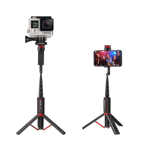 BlitzWolf® BW-BS10 sport All In One Portable Selfie Stick wi