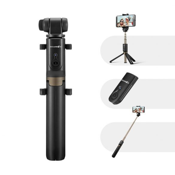 BlitzWolf BW-BS3 Extendable Selfie Stick Tripod with Wireless Remote