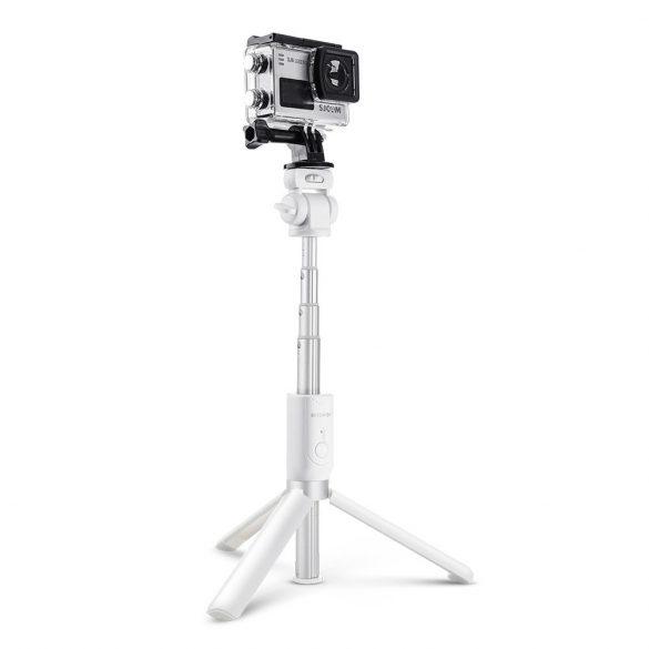 BlitzWolf BW-BS3 White Extendable Selfie Stick Tripod with Wireless Remote
