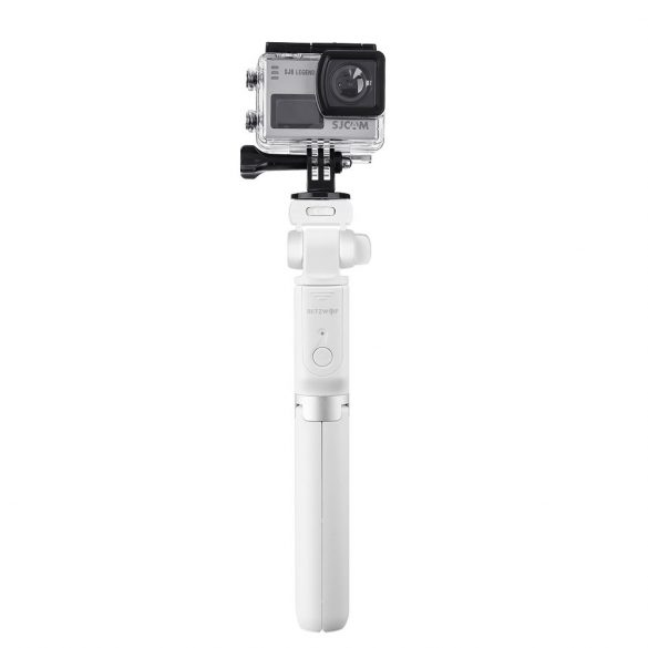 BlitzWolf BW-BS3 White Extendable Selfie Stick Tripod with Wireless Remote