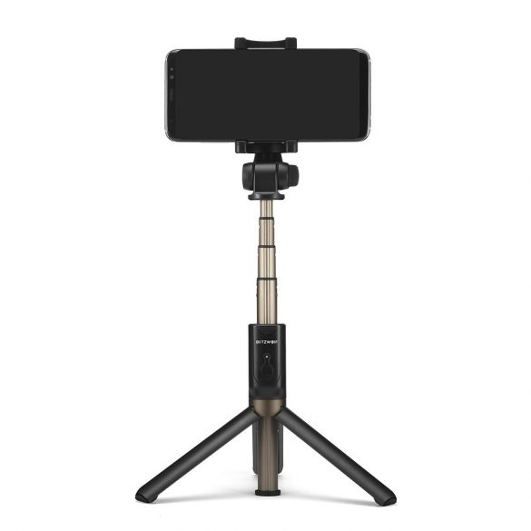 BlitzWolf BW-BS3 sport Extendable Selfie Stick Tripod with Wireless Remote