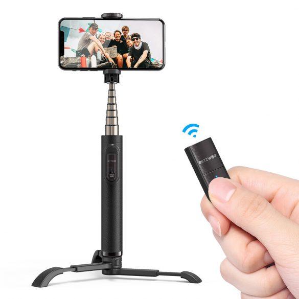 BlitzWolf BW-BS9 compact Selfie Stick Tripod with Wireless Remote