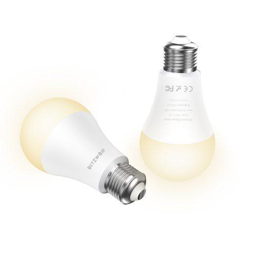 Smart bulb - BlitzWolf® BW-LT21, E27, 900m, 10W, 2700-6500K, App Control