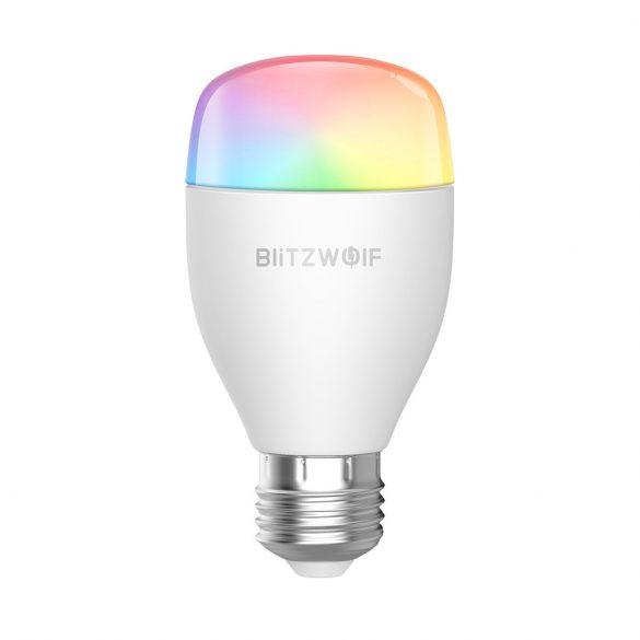 Smart bulb - BlitzWolf® BW-LT27, E27, 850m, 9W, 2700-6500K, App + infrared Control
