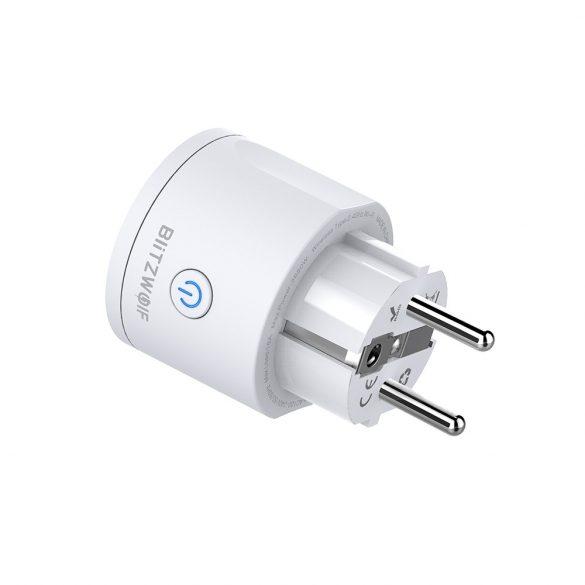 3680W EU WIFI Smart Socket - BlitzWolf® BW-SHP10 Wifi Smart Socket can integrate with Amazon Echo, Google Home and IFTTT.