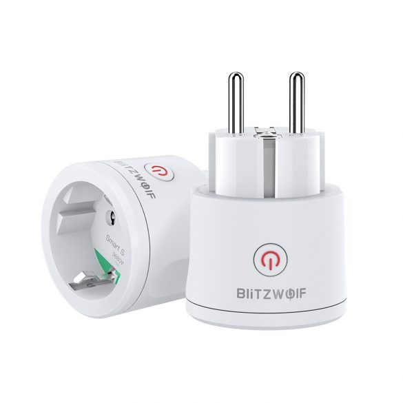 Blitzwolf® BW-SHP13 ZigBee 3.0 Smart Socket - 220V; 16; can integrate with Amazon Echo, Google Home and IFTTT.