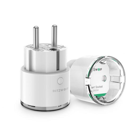 3840W EU WIFI Smart Socket - BlitzWolf® BW-SHP6 Wifi Smart Socket can integrate with Amazon Echo, Google Home and IFTTT.