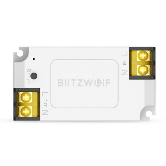 BlitzWolf® BW-SS1 3300W 15A Basic DIY WIFI Wireless Switch Smart Home APP Remote Control Timer Module Socket Work with Amazon Echo Google Home IFTTT