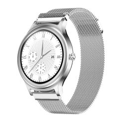 BlitzWolf BW-AH1 silver - women's touch screen smart watch - silver colors