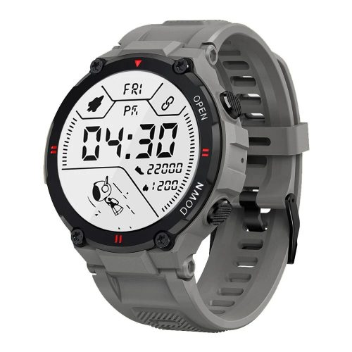 Blitzwolf® BW-AT2C (Gray) Smart watch with built-in microphone and speaker with countless activity mode functions