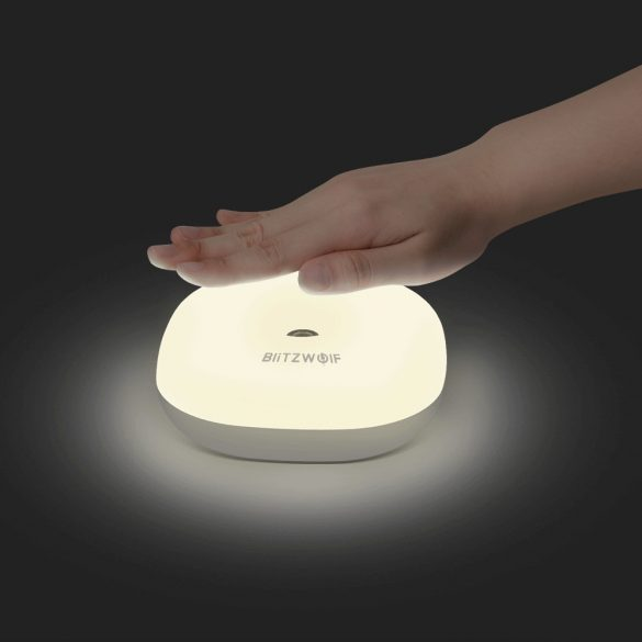 BlitzWolf BW-LT18 Smart Gesture Control Sensor LED Night Light RGB Dimmable Bedside Ambient Lamp