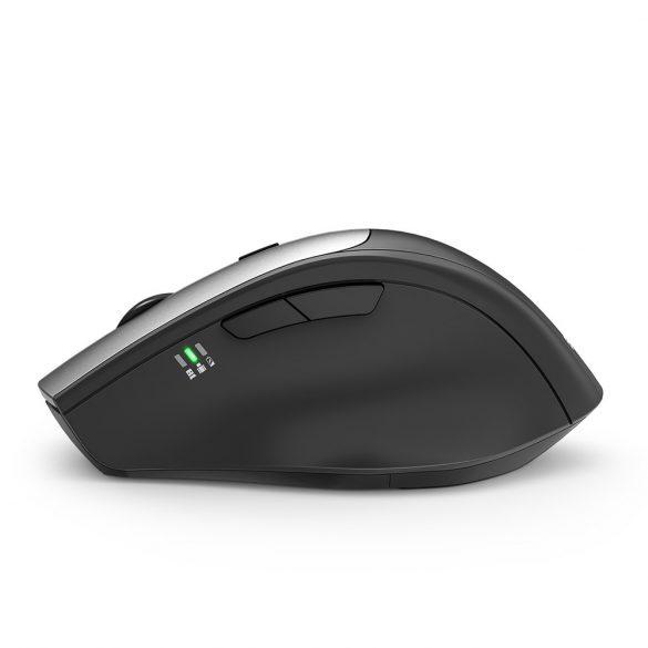 Blitzwolf BW-MO2 Wireless Mouse - 2.4 GHz Wireless, 2400DPI - Silver