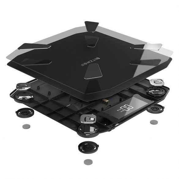 BlitzWolf® BW-SC3 Smart Scale WIFI with 13 Body Metrics, High Accuracy, APP Control, Modern Styling and USB Charging